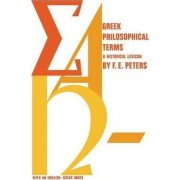 Greek Philosophical Terms by Francis E. Peters