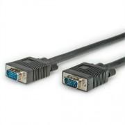 Secomp-SVGA-HD15-HD15-M-M-black-2-0m