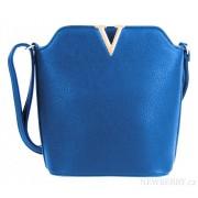 Elegantní crossbody kabelka Z-10 modrá