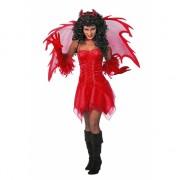 Duivel jurk rood voor dames
