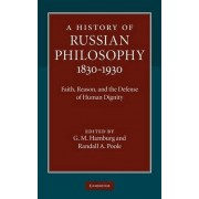 A History of Russian Philosophy 1830-1930 by G. M. Hamburg