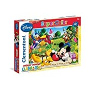 Clementoni 26922. 8-60 T Classic Mickey Mouse Clubhouse, Puzzle