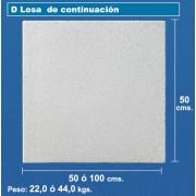 Baldosa de piscina de continuacion de 50x50 blanco granallado
