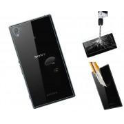 Folie Sticla Sony Xperia Z3+ Z4 Spate Tempered Glass Ecran Display LCD