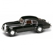 1954 Bentley R-Type Continental w/ Coachwork by Franay Black - Yatming 43212 - 1/43 Scale Diecast Model Toy Car