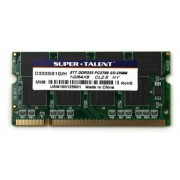 Super Talent D333SB1G/H memoria principale 1 GB 333 mhz CL 2,5 DDR1-RAM