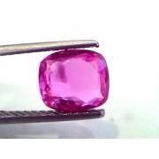 2.95 Ct Unheated Untreated Natural Madagaskar Pinkish Ruby **RARE**