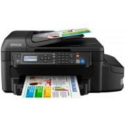 Multifunctional Epson L655, A4, Fax, 33 ppm, Duplex, ADF Retea, Wireless, CISS