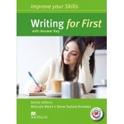 Improve Your Skills for First (FCE) Writing Student's Book with Key & Macmillan Practice Online by Malcolm Mann