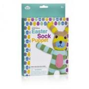 Easter Sock Puppet - Socken Puppe selber machen