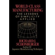 World Class Manufacturing: The Lessons of Simplicity Applied