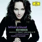 Helene Grimaud, Vladimir Jurowski, Staatskapelle Dresden - Beethoven: Piano Concerto No. 5, 'Emperor' / Piano Sonata No. 28 in A (0028947765950) (1 CD)