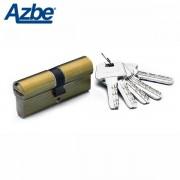Bombin de seguridad AZBE HS7 Europerfil Latonado, 35x35