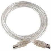 Digitech USB A-B 5m Cable - Silver, OEM, No
