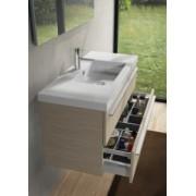 Ansamblu mobilier Riho cu lavoar ceramic 60cm gama Bellizzi, SET 02 Gloss