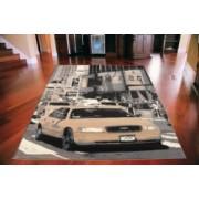 Koberec Times Square Cab grey city Rozměr koberce 185x270cm