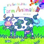 It's Fun to Draw Farm Animals by Mark Bergin