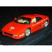 1/43 Ferrari F355 GTB 97 World Tour Japan Red Around the World model (japan import)