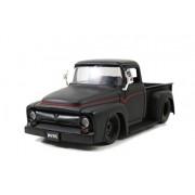 1956 Ford F-100 Pickup 1/24 Primer Black w/ Black Rims