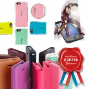 1 Year Screen Care Plan + Free Glass Screen Protector + Free Protective Case for iPhone 5/5S