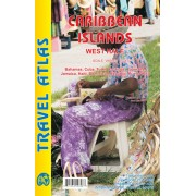Wegenatlas - Atlas Travel Atlas Caribbean Island West Half | ITMB