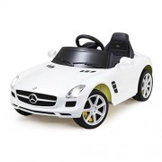 Original Mercedes SLS AMG Remote Control ride on- WHITE/RED available