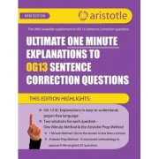 Ultimate One Minute Explanations to Og13 SC by Aristotle Prep