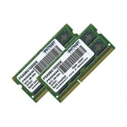 Patriot Signature Apple - DDR3 - 8 Go : 2 x 4 Go - SO DIMM 204 broches - 1333 MHz / PC3-10600 - CL9 - 1.5 V - mémoire sans tampon - non ECC - pour Apple iMac; MacBook; MacBook Pro