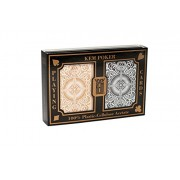 US Playing Card Co. KEM - Carte da poker Arrow Black e Gold Wide, indice standard [importato da UK]