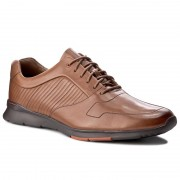 Обувки CLARKS - Tynamo Race 261199097 Tan Leather