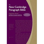 New Cambridge Paragraph Bible with Apocrypha KJ590:TA by David Norton