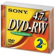 Sony DVD-RW 2X Rewriteable 4.7GB (2-Pack)