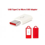 StuffHoods USB Type-C To Micro USB Adapter for Nubia Z11 miniS / Nubia Z11miniS / Nubia Z 11 mini S / Nubia Z Eleven miniS / Nubia Z11
