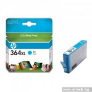 HP 364XL Cyan Ink Cartridge (CB323EE)