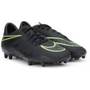 Nike HYPERVENOM PHELON II FG Football Shoes(Black)