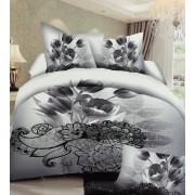 Lenjerie de pat dublu din microfibră Evia Home PLC010/46