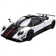 Motormax 1:18 Pagani Zonda 5 Cinque Vehicle White/Black