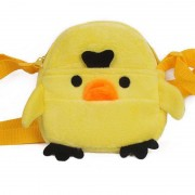 Yellow Baby Duckling Sling Baby Bag Stuffed Soft Plush Toy