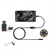 android endoscópio usb 5,5 milímetros telefone android endoscópio 6 IP66 levou câmara usb 2m endoscópio câmera de CCTV otg à prova d'água