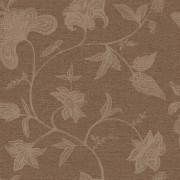 Papel de Parede Natural Bobinex 1409 Floral Chocolate