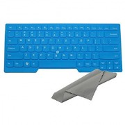 Avigator Blue Ultra Thin Silicone Keyboard Protector Skin Cover for IBM Lenovo ThinkPad S3 S430 X230 E330 E335 E430 E430C E431 E435 E440 E445 T430 T430c T430s T430u T431s T440 T440p T440s L440 L330 T530 L530 W530 (if your enter ke