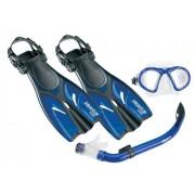 Kit Infantil Máscara Snorkel Nadadeira - SeaSub