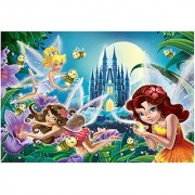 Glitter Fairies Bright in the Night Puzzle