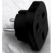 Travel Enchufe Plug Adaptador Adapter UK EU