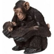 Figurina Schleich Chimpanzee Female and Baby