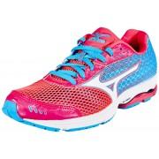 Mizuno Wave Sayonara 3 Running Shoe Women diva pink/white/atomic blue 42,5 Triathlon Laufschuhe