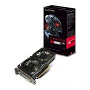 Sapphire 11257-00-20G Scheda video da 2 GB, GDDR5, Nero
