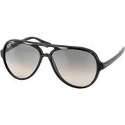 Ray Ban Herren Brillen Sonnenbrille Cats 5000 Kunststoff schwarz
