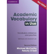 Academic Vocabulary in Use Edition with Answers by Michael McCarthy