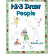 1-2-3 Draw People by Levin Freddie